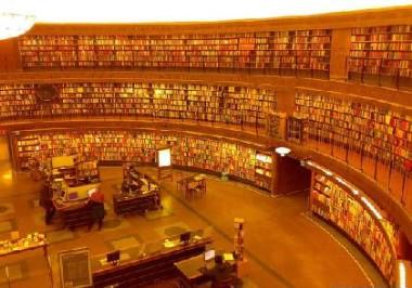 The most impressive top ten libraries in the world is what?